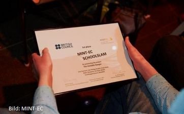 MINT-EC SchoolSlam mit British Council